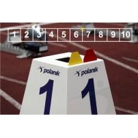 Set marcaje pista alergare Polanik LM-45/10