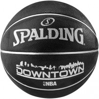Minge de baschet Spalding NBA Downtown Black