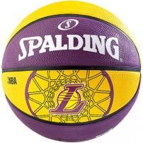 Minge de baschet Spalding NBA TEAM L.A. Lakers