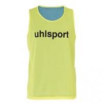 Maiou departajare reversibil Uhlsport fluo yellow/blue