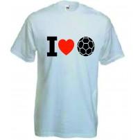Tricou Chic I love football