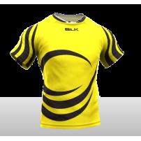 Tricou de joc rugby BLK personalizat