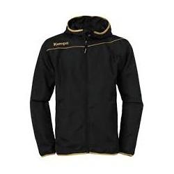 Bluza prezentare Kempa gold (neagra)