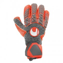 Manusi portar Uhlsport Aerored Supergrip Finger Surround