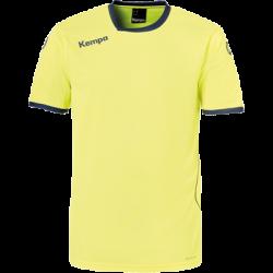 Tricou de joc handbal Kempa Curve galben