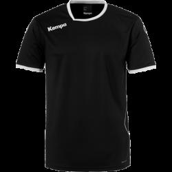 Tricou de joc handbal Kempa Curve negru/alb