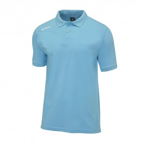 Tricou Polo Errea Team Colours (celeste)