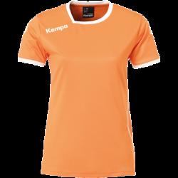 Tricou joc Kempa Curve portocaliu/alb