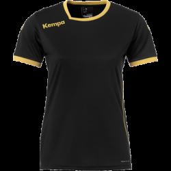Tricou joc Kempa Curve (negru/auriu)