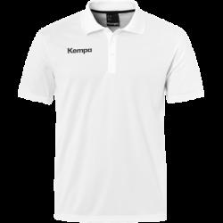 Tricou Kempa Poly (alb)