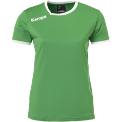 Tricou joc Kempa Curve verde/alb