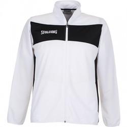 Bluza de trening Spalding Evolution II Classic alb negru