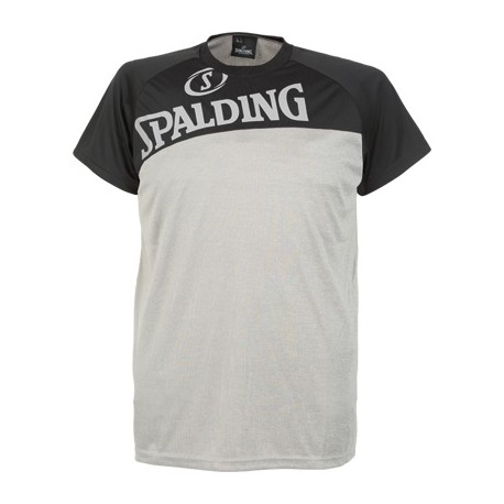 Tricou Spalding Street gri/negru
