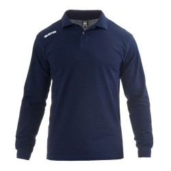 Tricou Polo Errea Team 2012 maneca lunga bleumarin