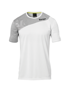 Tricou De Joc Handbal Kempa Core 2.0 Alb/Gri