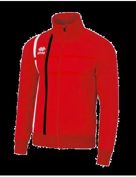Bluza De Trening Bumbac Errea Micael (rosu)