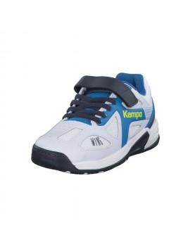 Pantofi Sport Kempa Wing Junior alb/albastru