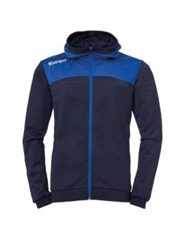 Bluza Trening Cu Gluga Kempa Emotion 2.0 bleumarin/albastru