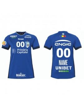 Tricou personalizat albastru CSM Bucuresti handbal feminin (Liga Florilor)