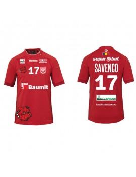 Tricou rosu suporter Dinamo...
