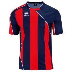 Tricou de joc fotbal Errea Hove Bleumarin/Rosu