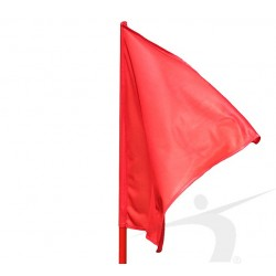 Steag Rosu cu suport Polanik