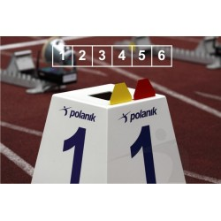 Set marcaje pista alergare Polanik LM-45/6