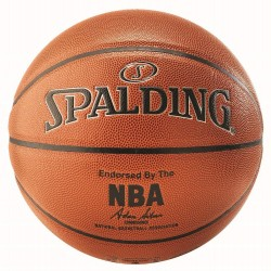 Minge de baschet Spalding NBA Silver