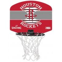 Mini Panou de baschet Spalding Houston Rockets
