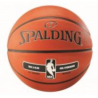 Minge baschet Spalding NBA Silver