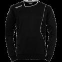 Bluza portar handbal Kempa Curve negru/alb