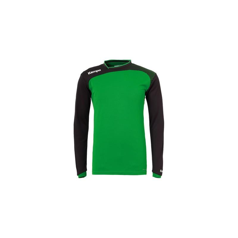 Bluza incalzire Kempa Emotion verde
