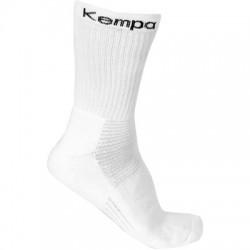 Sosete Kempa Classic Logo 3 perechi albe