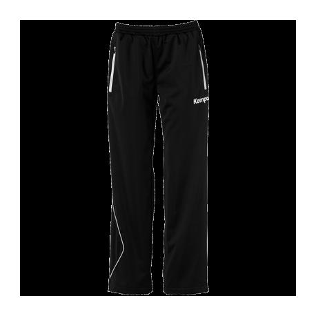 Pantaloni trening dama Kempa Classic Curve negru/alb