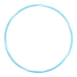 Cerc bicolor 75CM